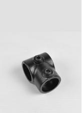 Rohrverbinder schwarz